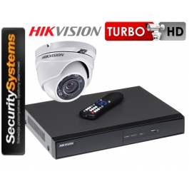 Zestaw monitoringu Hikvision Turbo HD DS-2CE56D0T-IRM (3,6mm) 2Mpx.