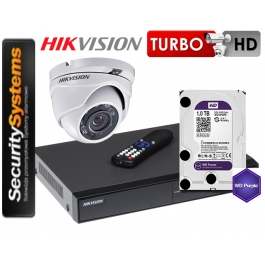 Zestaw monitoringu Hikvision Turbo HD  DS-2CE56D0T-IRM (3,6mm) (x1) 2Mpx.