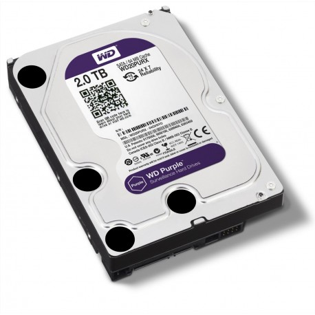 "Dysk HDD 3,5"" Western Digital PURPLE 2TB"